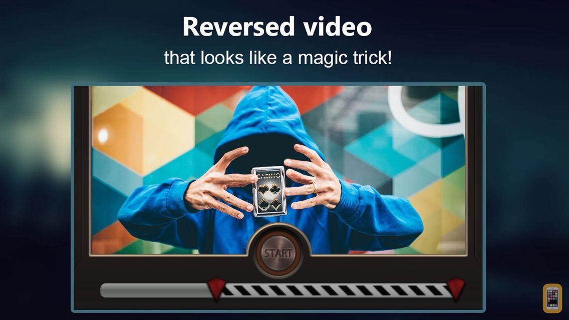 Screenshot - Reverse Movie FX - magic video