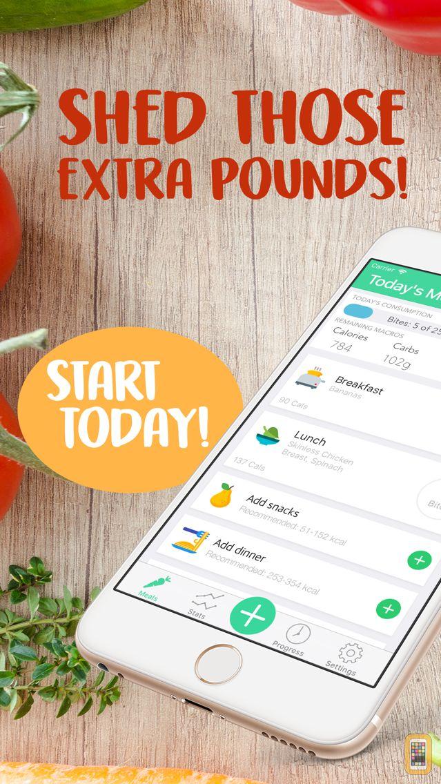 Screenshot - MyBites - Diet & Macro Tracker