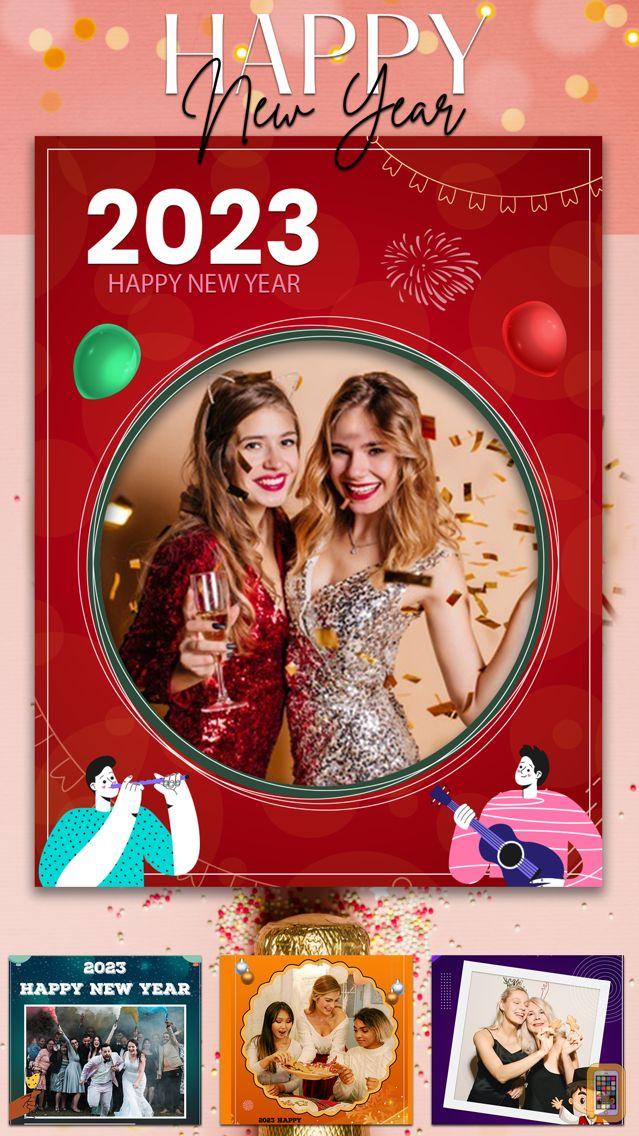 Screenshot - New Year Frames Photo Collage