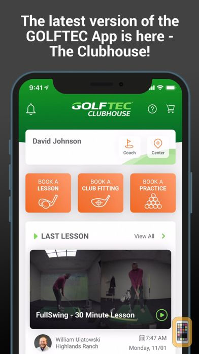 Screenshot - GOLFTEC CLUBHOUSE