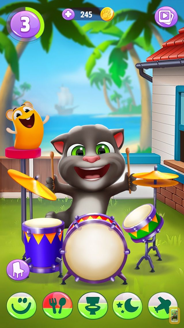 Screenshot - My Talking Tom 2