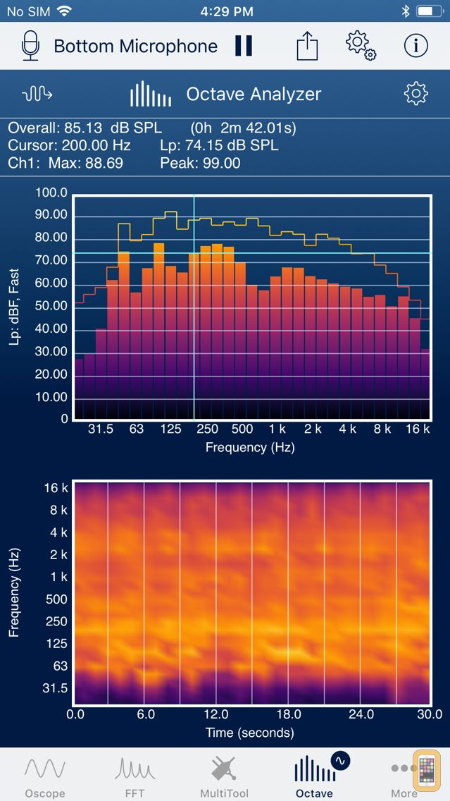 SignalScope Pro 2018 for iPhone & iPad - App Info & Stats