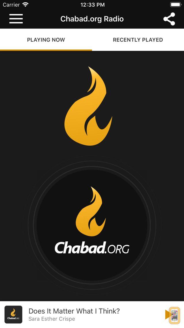 Screenshot - Chabad.org Radio