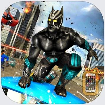 Panther Superhero City Battle by Muhammad Usman Shah (Universal)