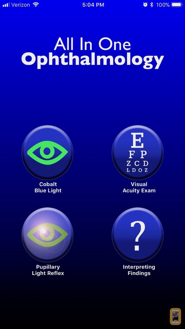 Screenshot - All In One Ophthalmology