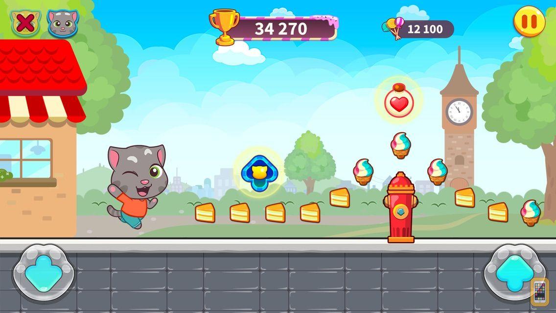 Screenshot - Talking Tom Candy Run