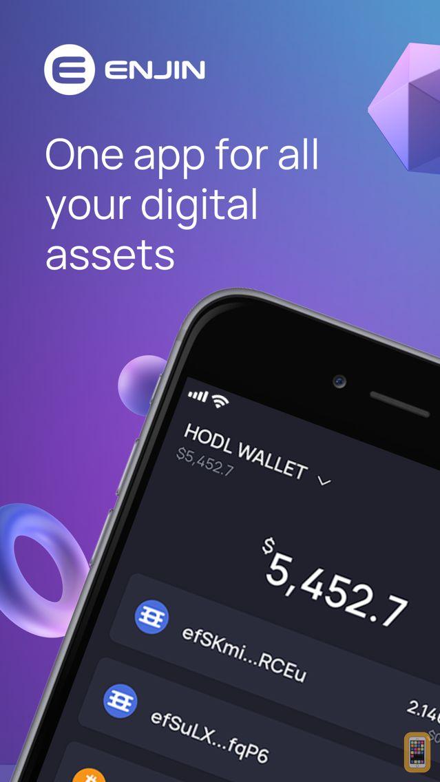 Screenshot - Enjin: NFT Crypto Wallet