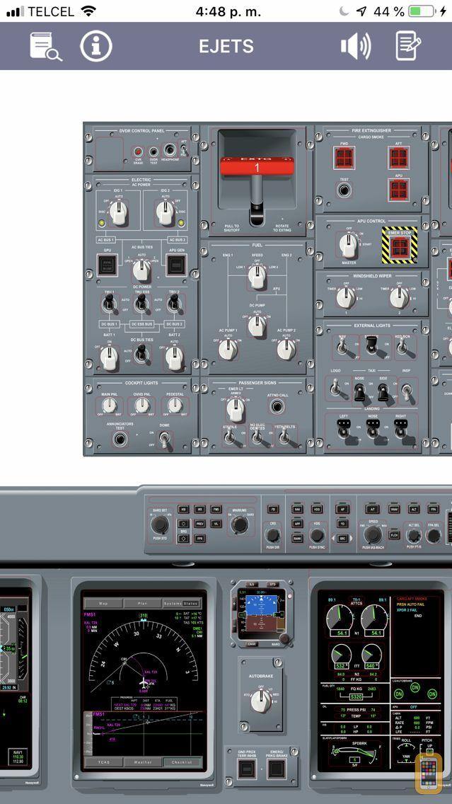 Screenshot - E-JETS Virtual Panel