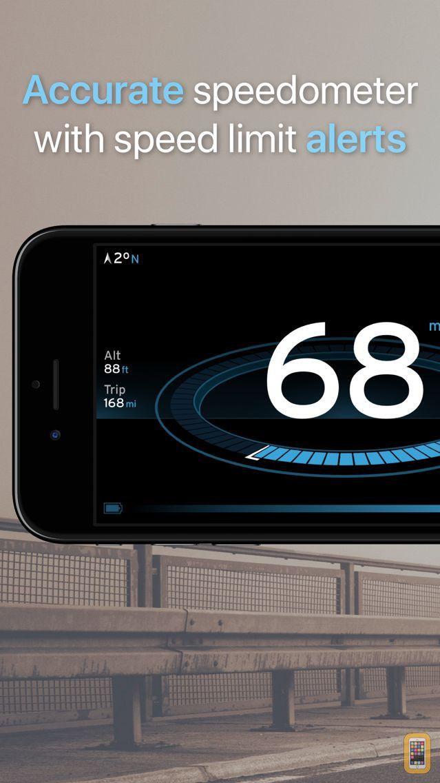 Screenshot - Speedometer One Speed Tracker