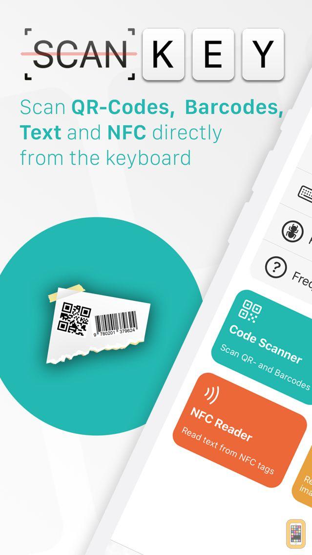 Screenshot - ScanKey - Barcode OCR Keyboard