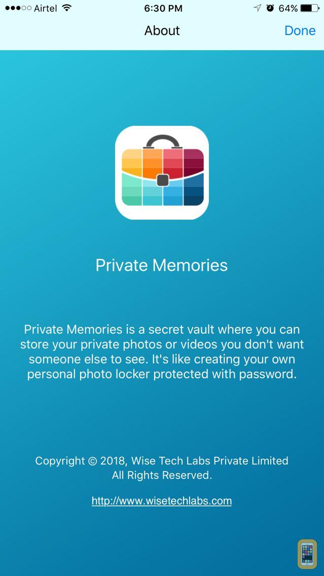 Screenshot - Private Memories - Photo Vault