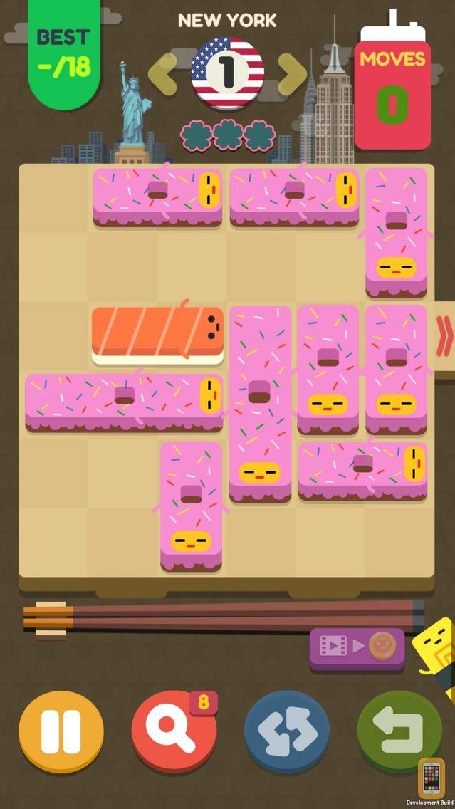 Screenshot - Push Sushi - puzzle&unblock