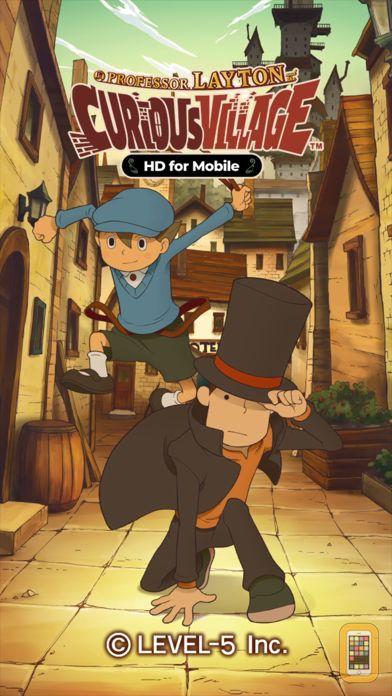 Screenshot - Layton: Curious Village in HD