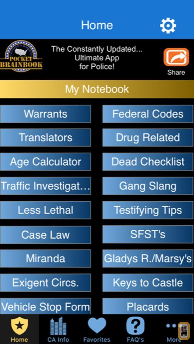 Screenshot - Pocket Brainbook for Police!