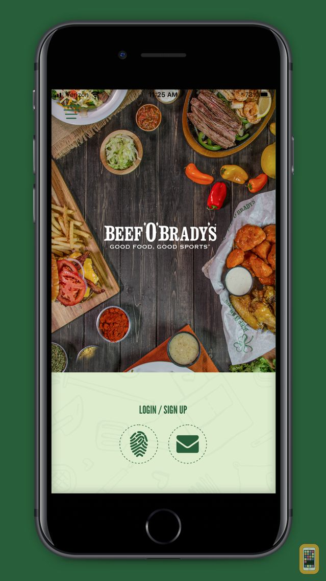 Screenshot - Beef 'O' Brady's Rewards