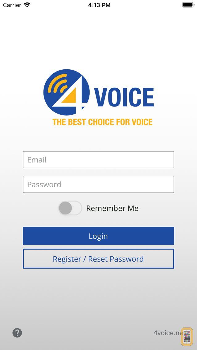 Screenshot - 4Voice Mobile