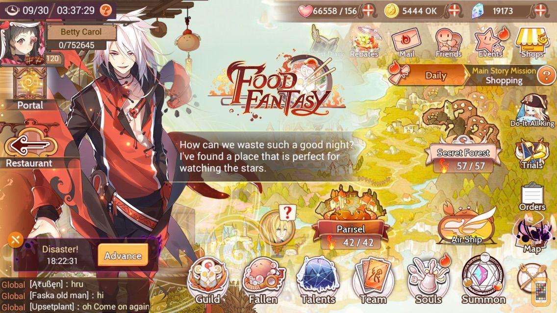 Screenshot - Food Fantasy