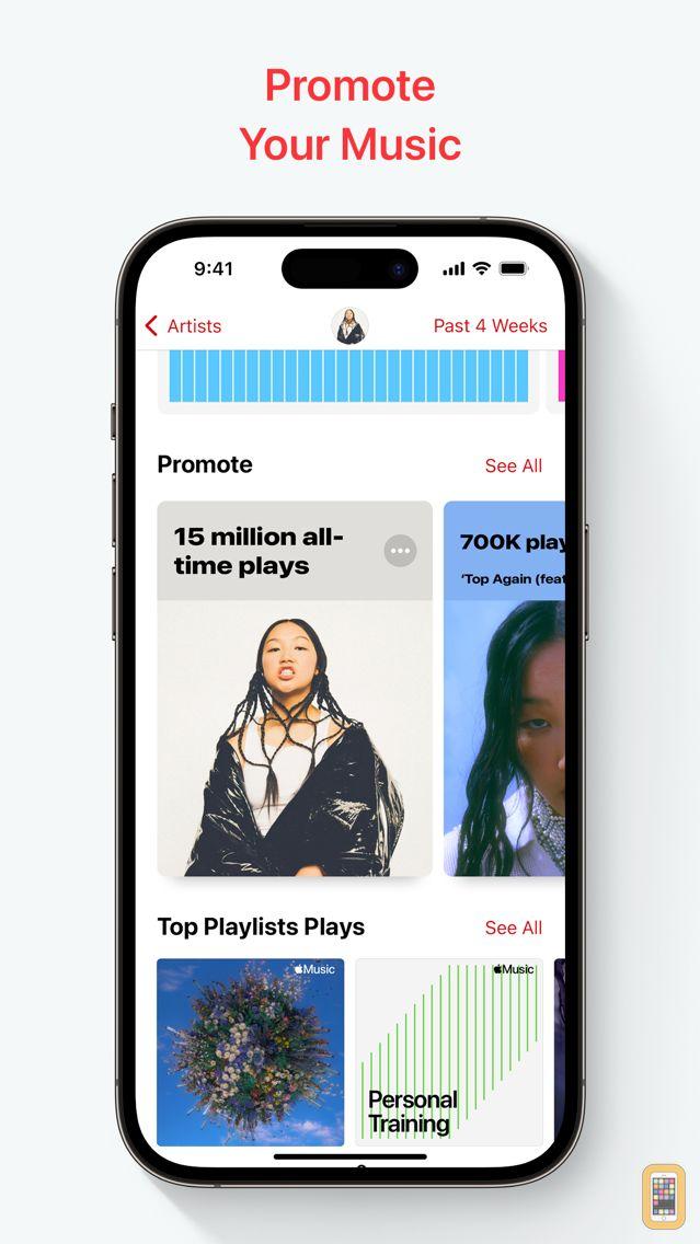 Screenshot - Apple Music for Artists
