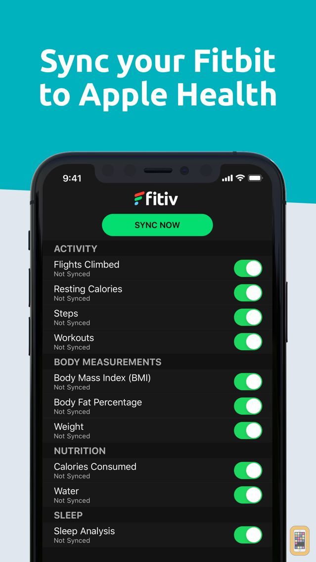 Screenshot - FITIV Sync for Fitbit Activity