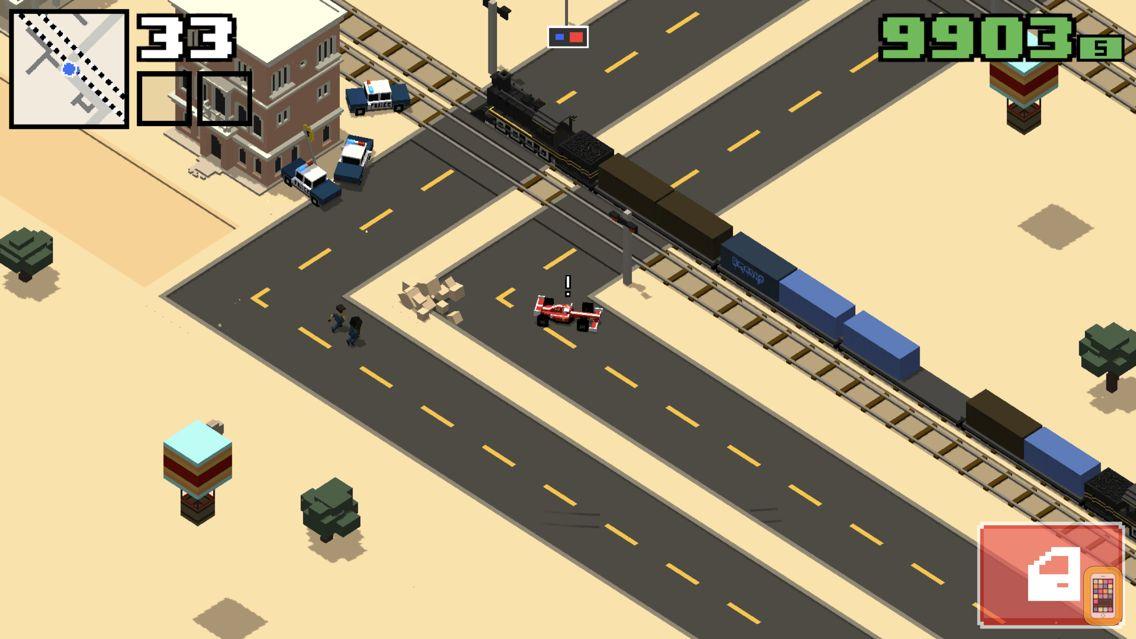 Screenshot - Smashy Road: Wanted 2
