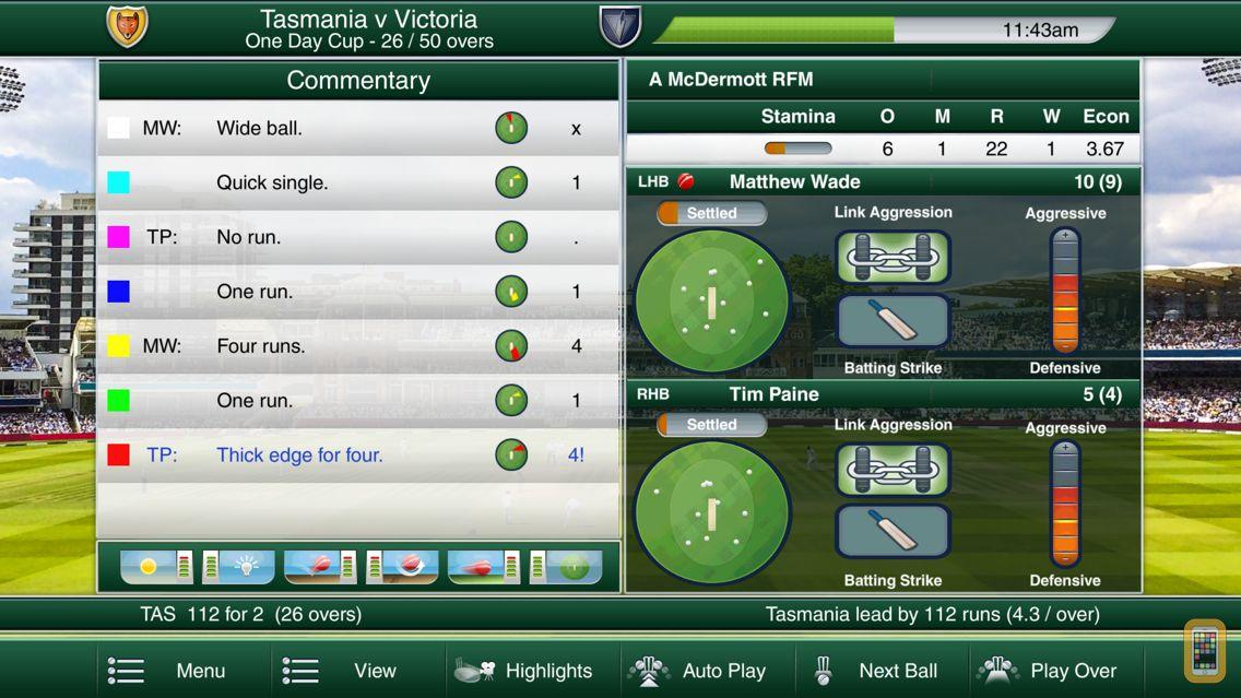 Screenshot - Cricket Captain 2018