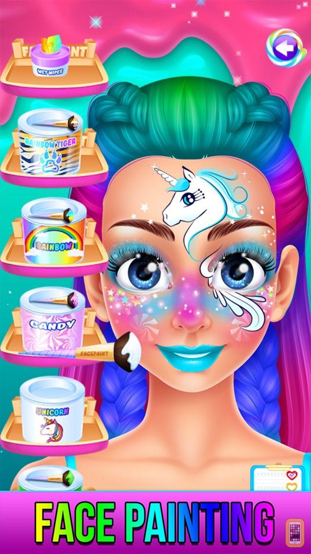 Screenshot - Rainbow Unicorn Candy Salon