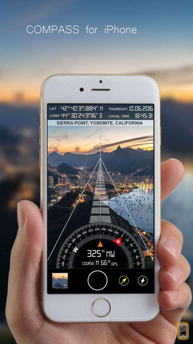 Screenshot - Compass i8 (GPS Camera)