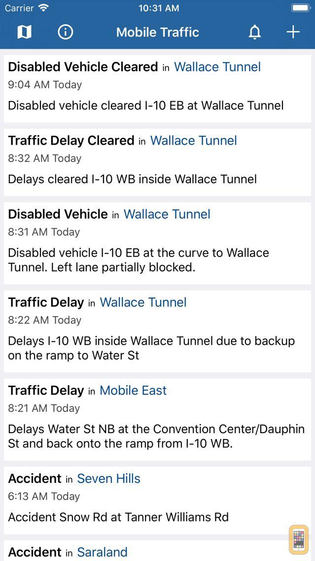 Screenshot - Mobile Traffic