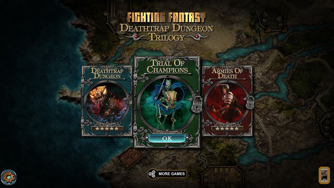 Screenshot - Fighting Fantasy Legends'