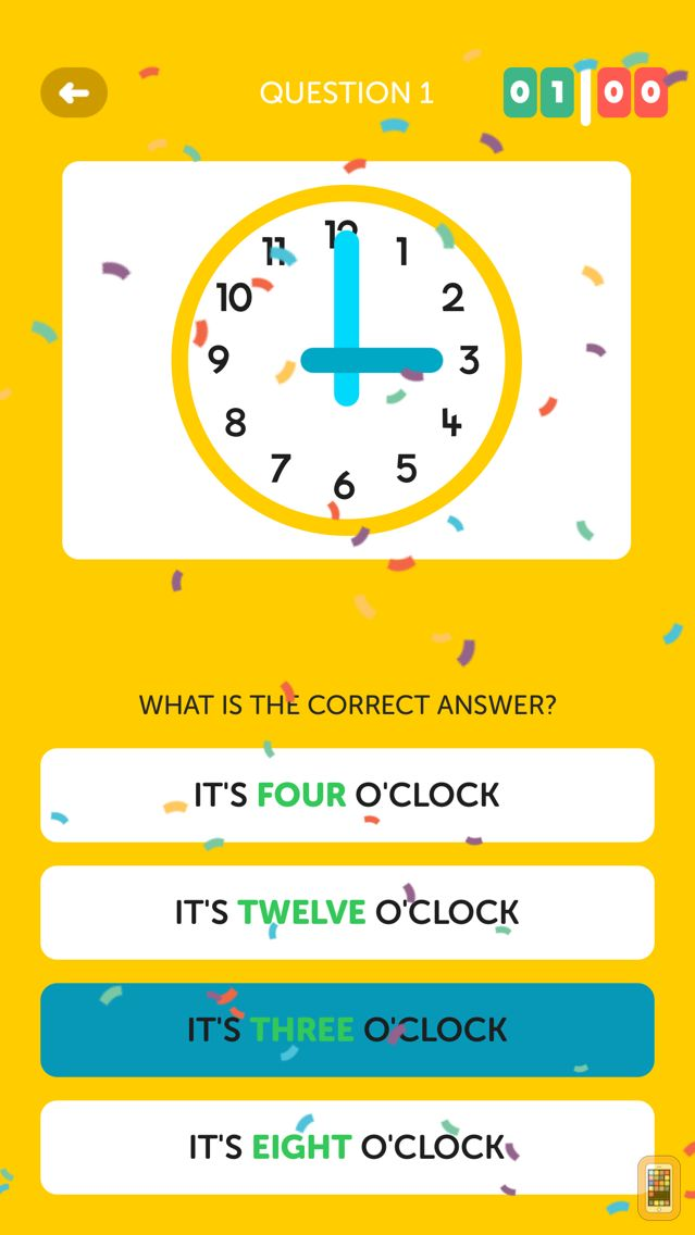 Screenshot - ClockWise, learn read a clock!