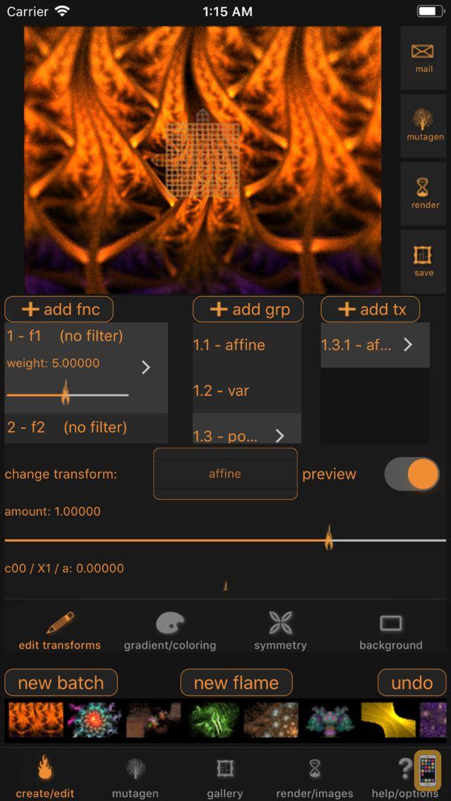 Screenshot - Flamelet