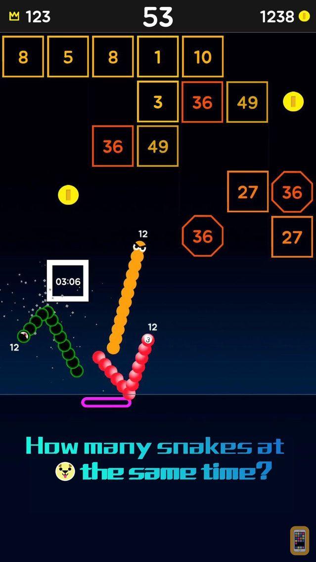 Screenshot - Snake Bricks-Bounce Balls