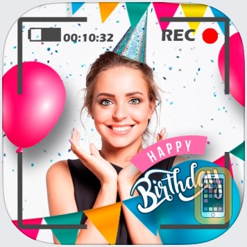 Happy Birthday Video Maker gif by Landay Apps (Universal)