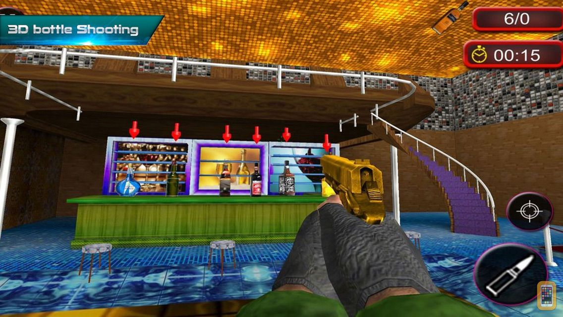 Screenshot - Bottle Shooting: Club Bar Gun