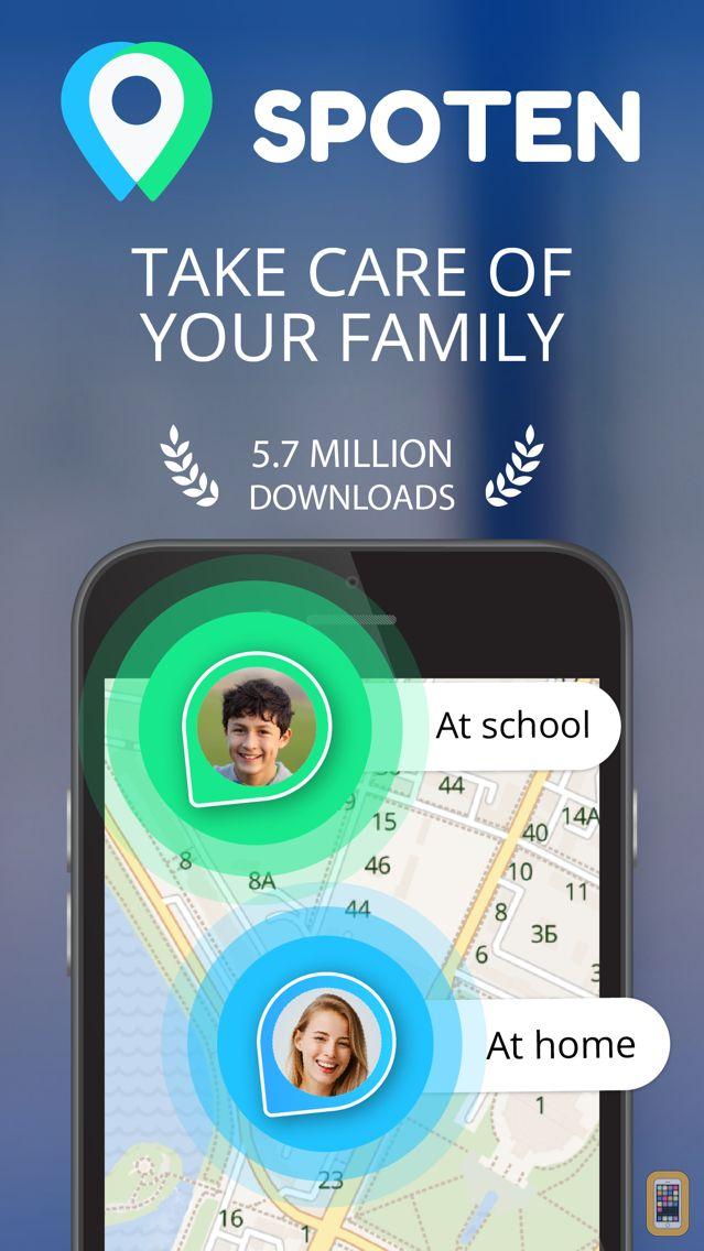 Screenshot - Spoten Family Location Tracker