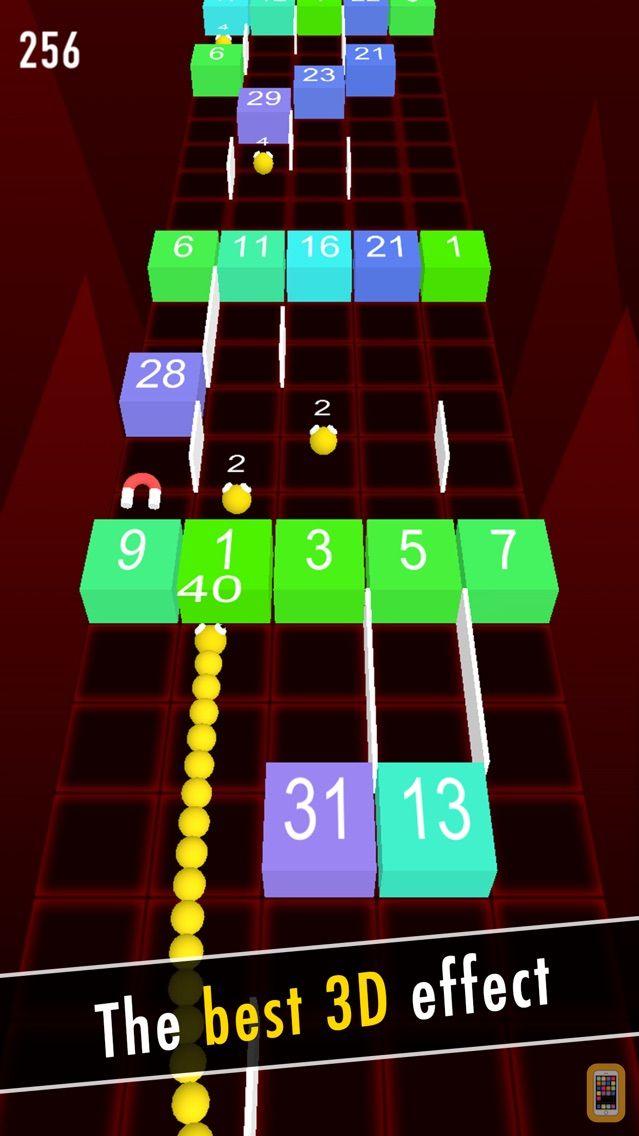 Screenshot - Balls Snake-Hit Up Number Cube