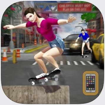Street Skateboard Girl by BUI THI HANG (Universal)