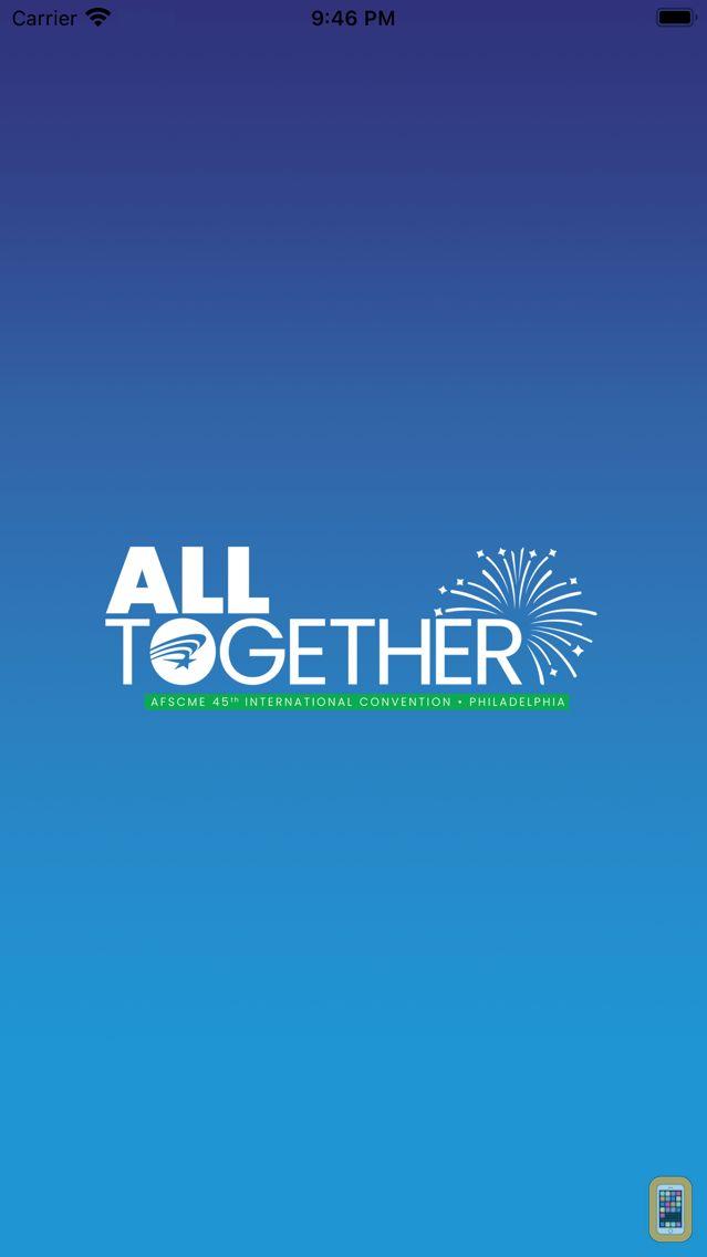 Screenshot - AFSCME Events