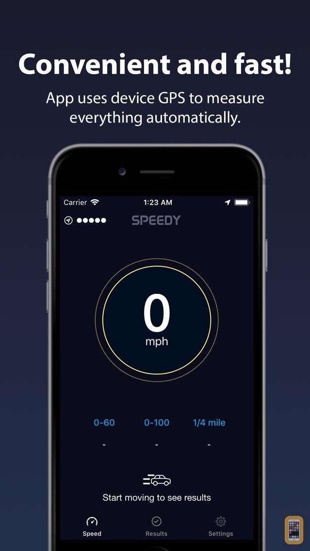 Screenshot - Speedy - Speedometer