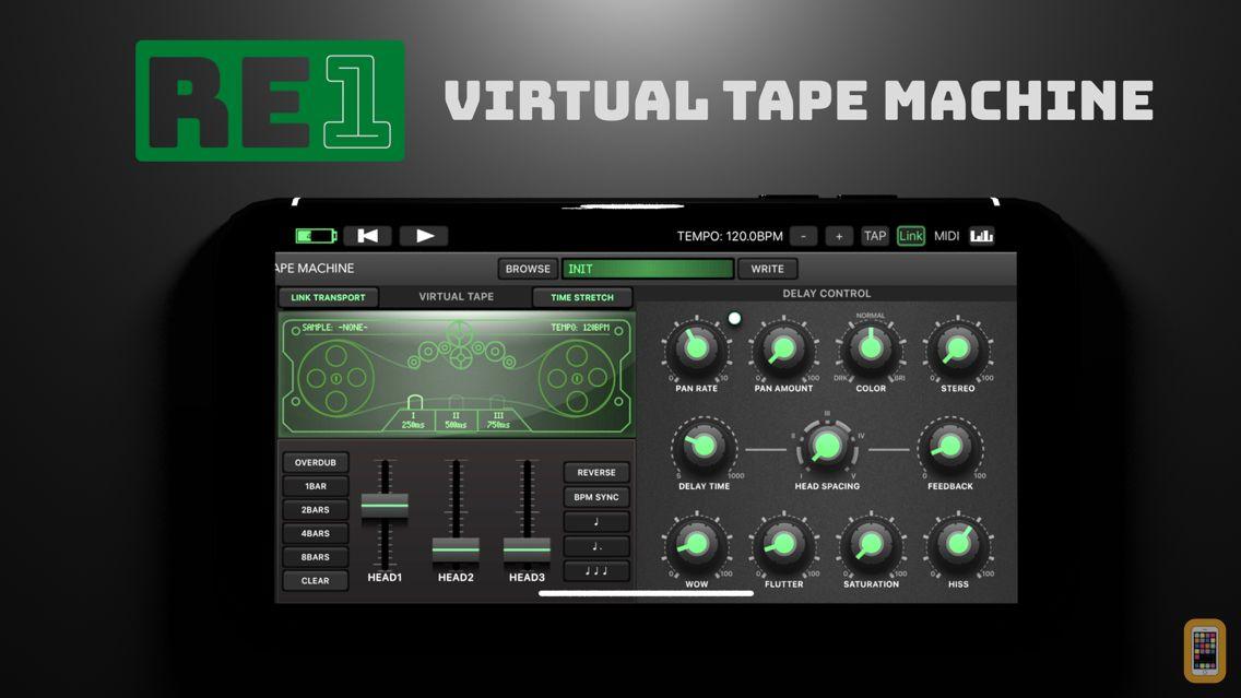 Screenshot - RE-1 Tape Machine