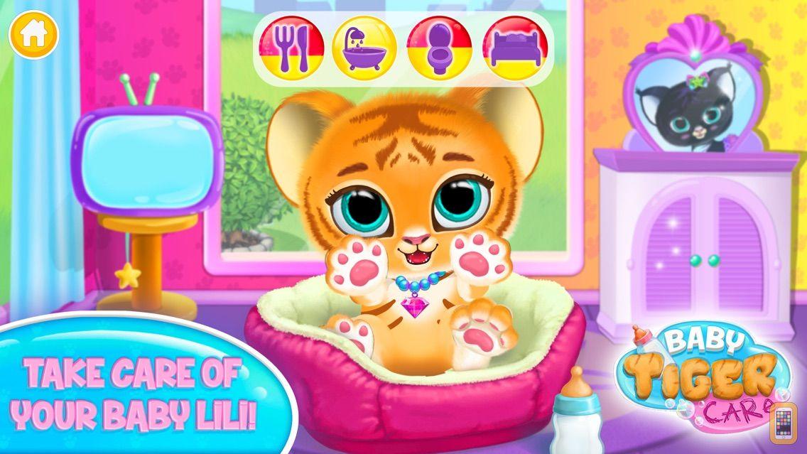 Screenshot - Baby Tiger Care