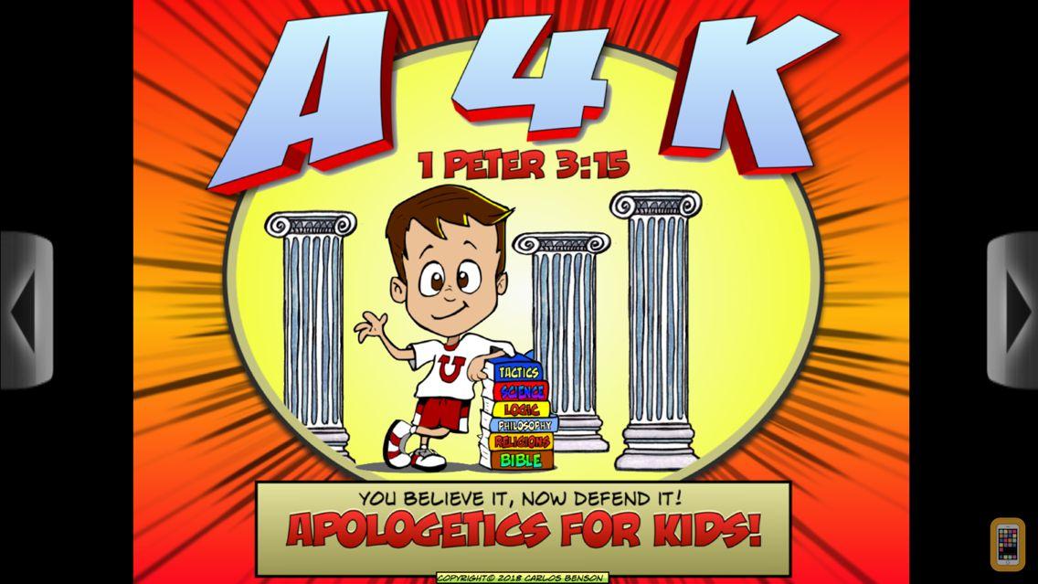 Screenshot - Apologetics For Kids!