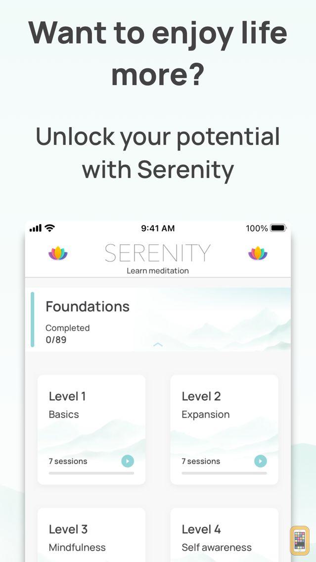 Screenshot - Serenity - Meditation App