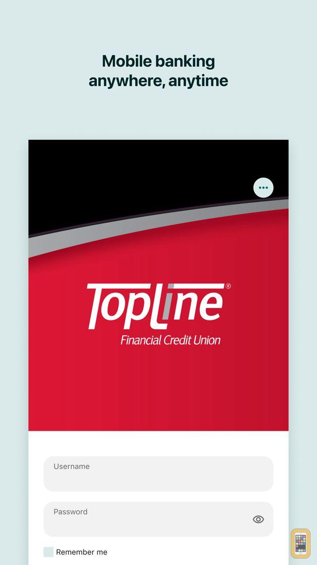 Screenshot - TopLine FCU Mobile Banking