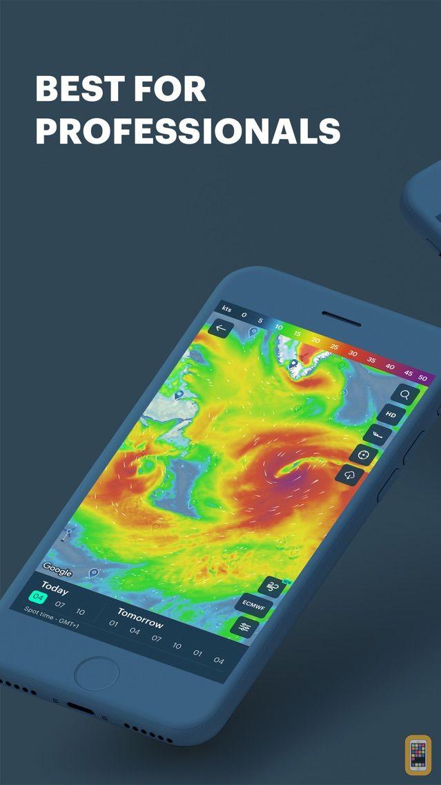 Screenshot - Windy Pro: marine weather app
