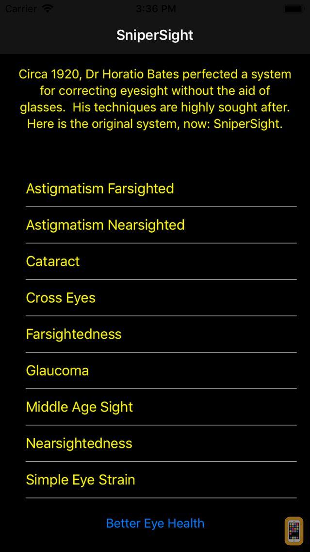 Screenshot - SniperSight: Eye Exercises