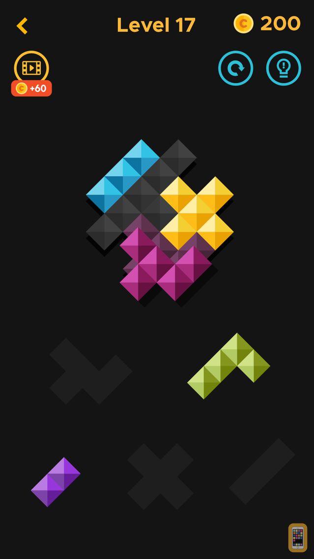 Screenshot - The Piece - Art Block Puzzle!