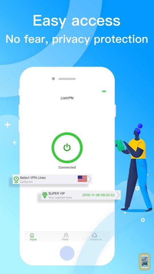 Screenshot - PeerVPN-fast secure social vpn