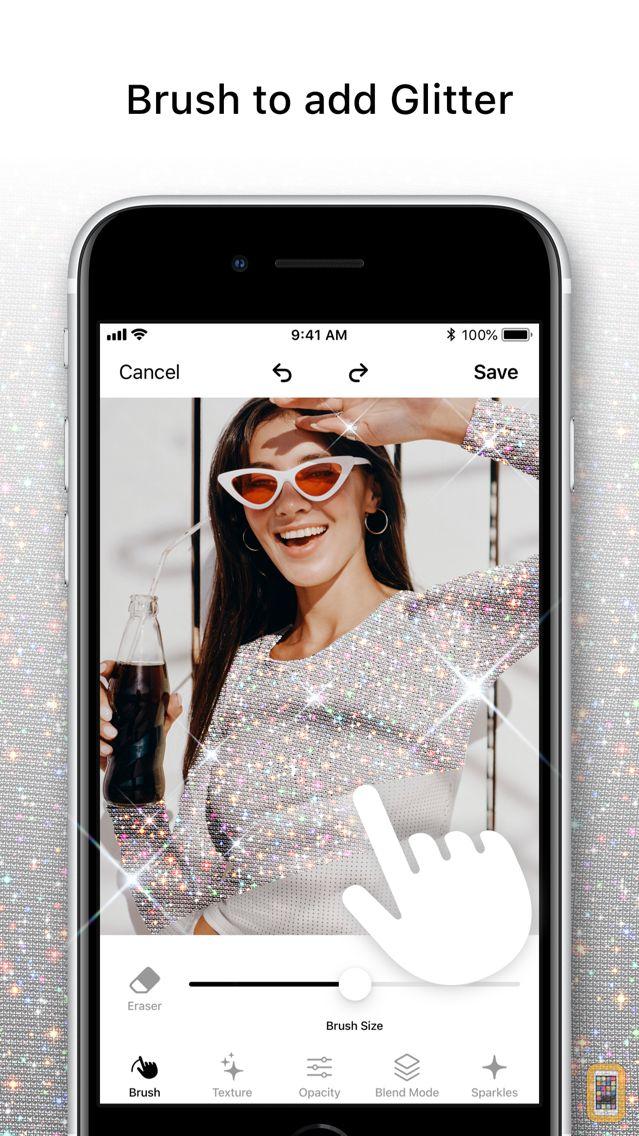Screenshot - Glitty — Glitter Effect Editor
