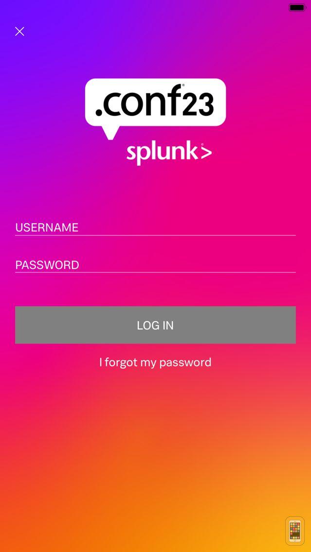 Screenshot - Splunk Events